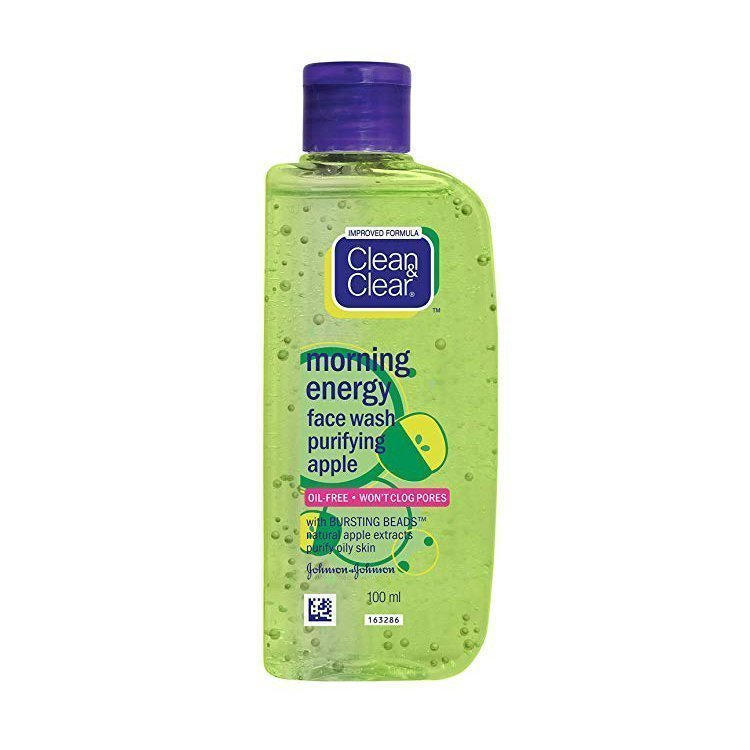 Clean & Clear Morning Energy Face Wash Apple