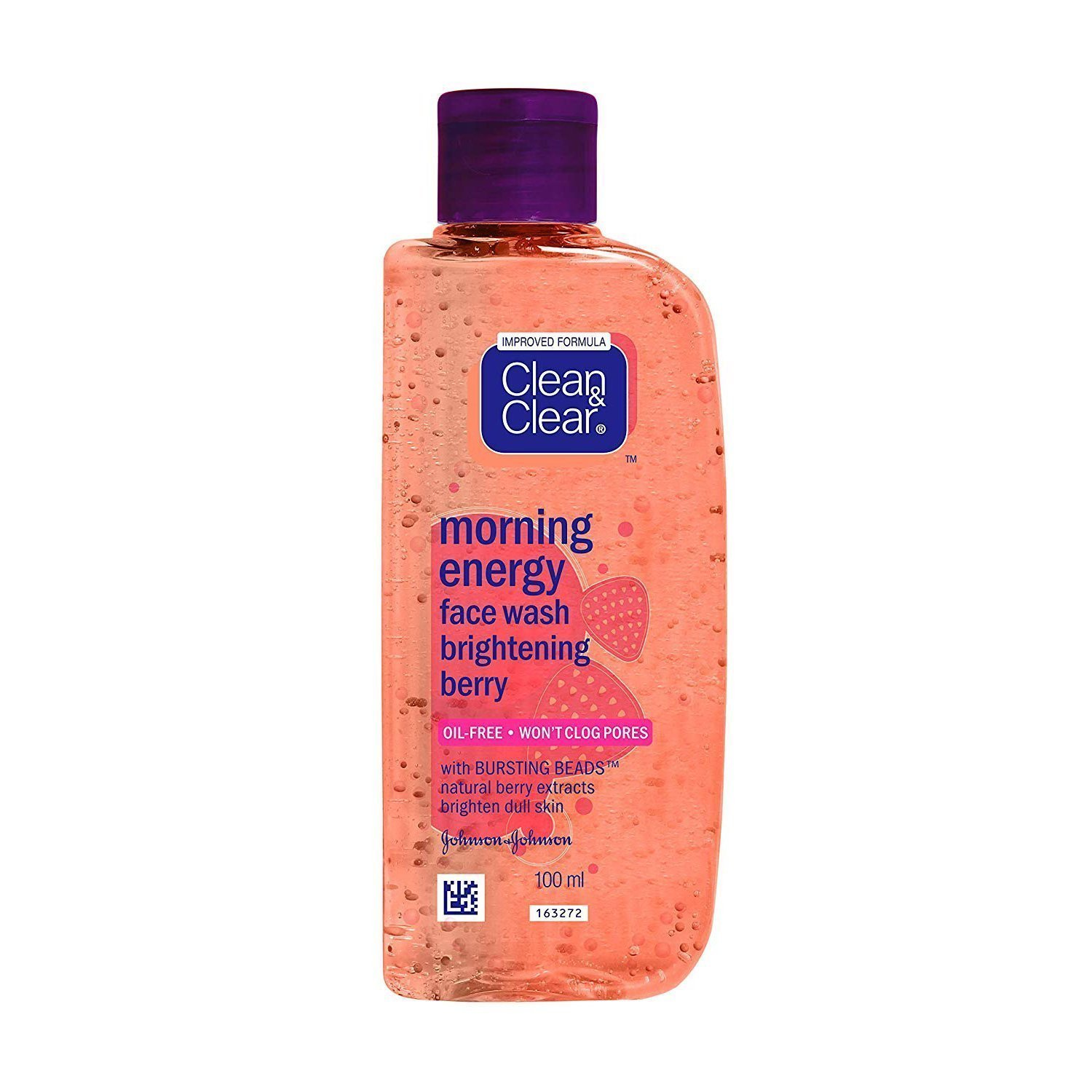 Clean & Clear Morning Energy Face Wash Berry