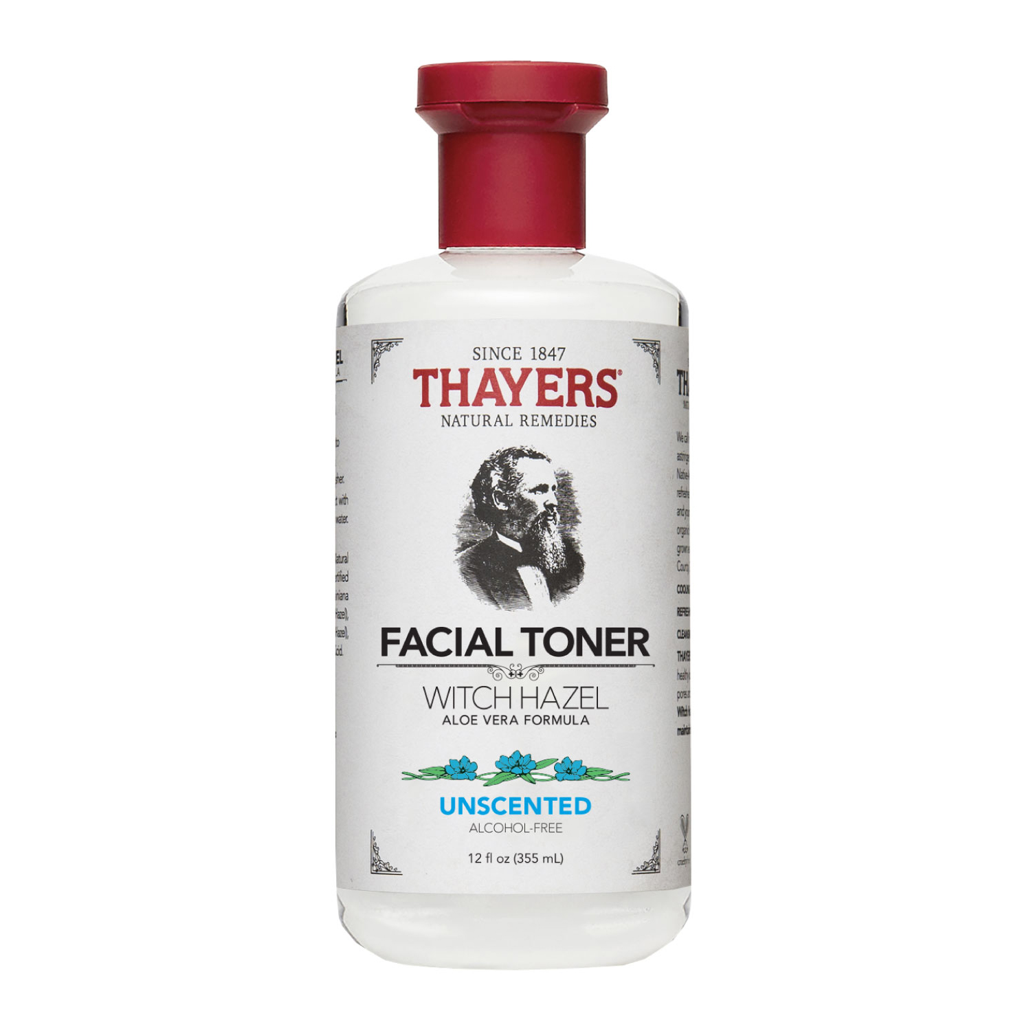 Thayers Alcohol-Free Witch Hazel Toner with Aloe Vera Formula Unscented- 355ml