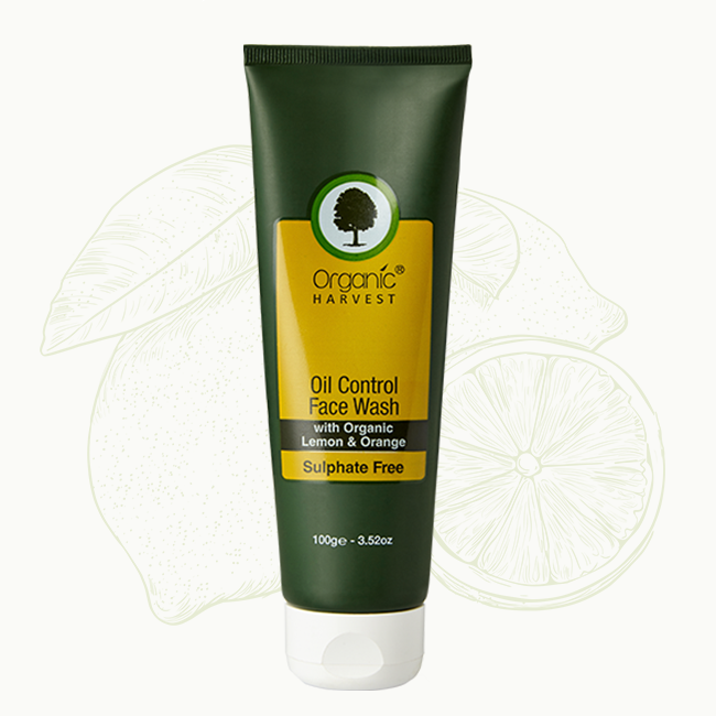 Organic Harvest Oil Control Face Wash
