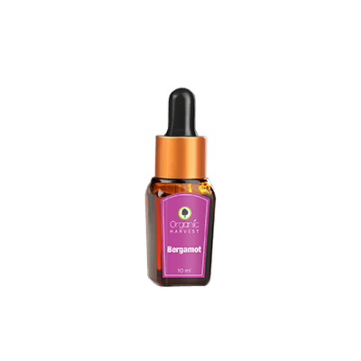 Organic Harvest Bergamot Essential Oil, 10ml