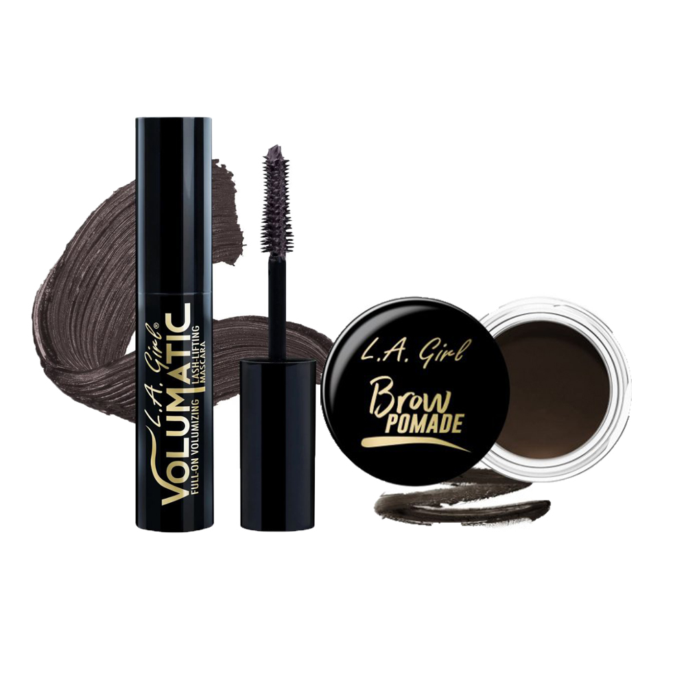 L.A. Girl Brow Pomade & L.A. Girl Volumatic Mascara Combo
