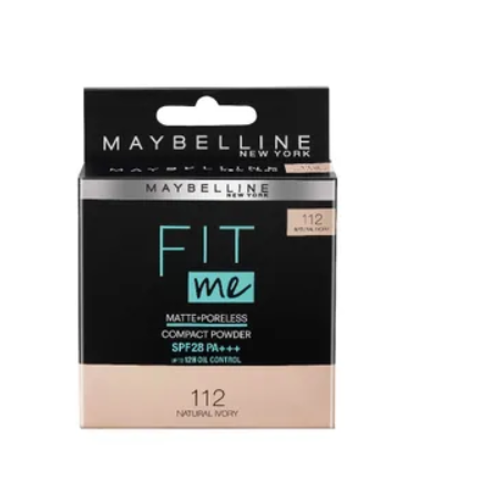 Maybelline New York Fit Me Compact Powder SPF 28 PA++ (8gm)