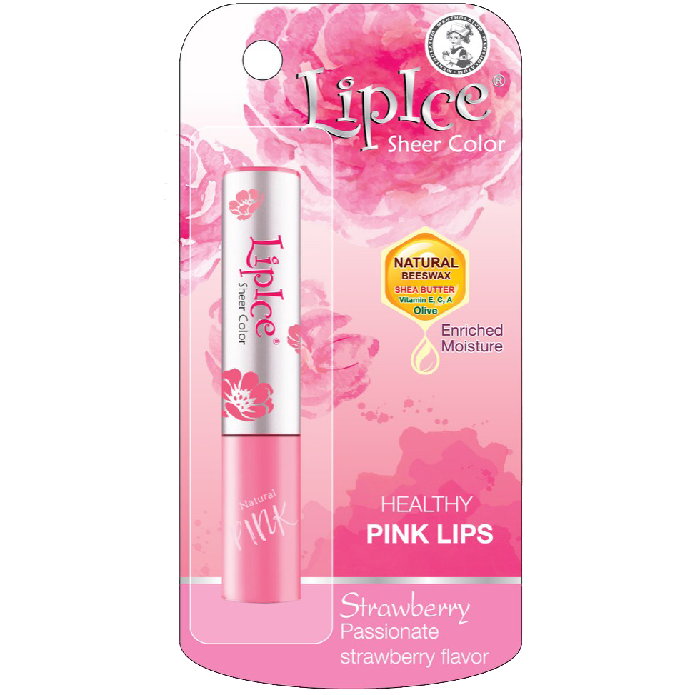 Lipice Sheer Color Strawberry , 2g