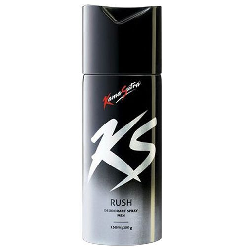 KamaSutra Rush Deodorant  Body Spray For Men, 150 ml