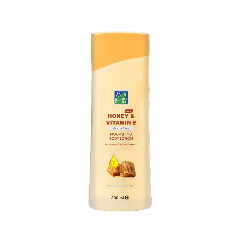 Astaberry Honey & Vitamin E Body Lotion - 300ml