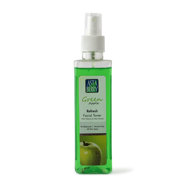 Astaberry Green Apple Facial Toner