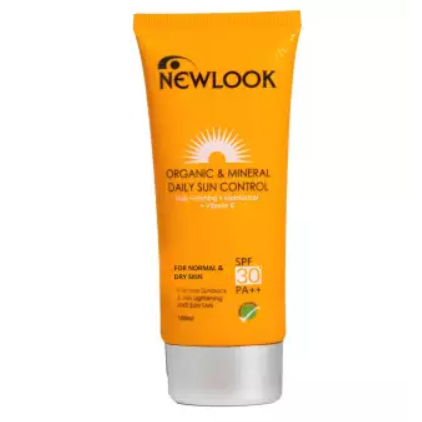 Newlook Sun Control SPF 30 (Dry and Normal Skin) - 100 ml