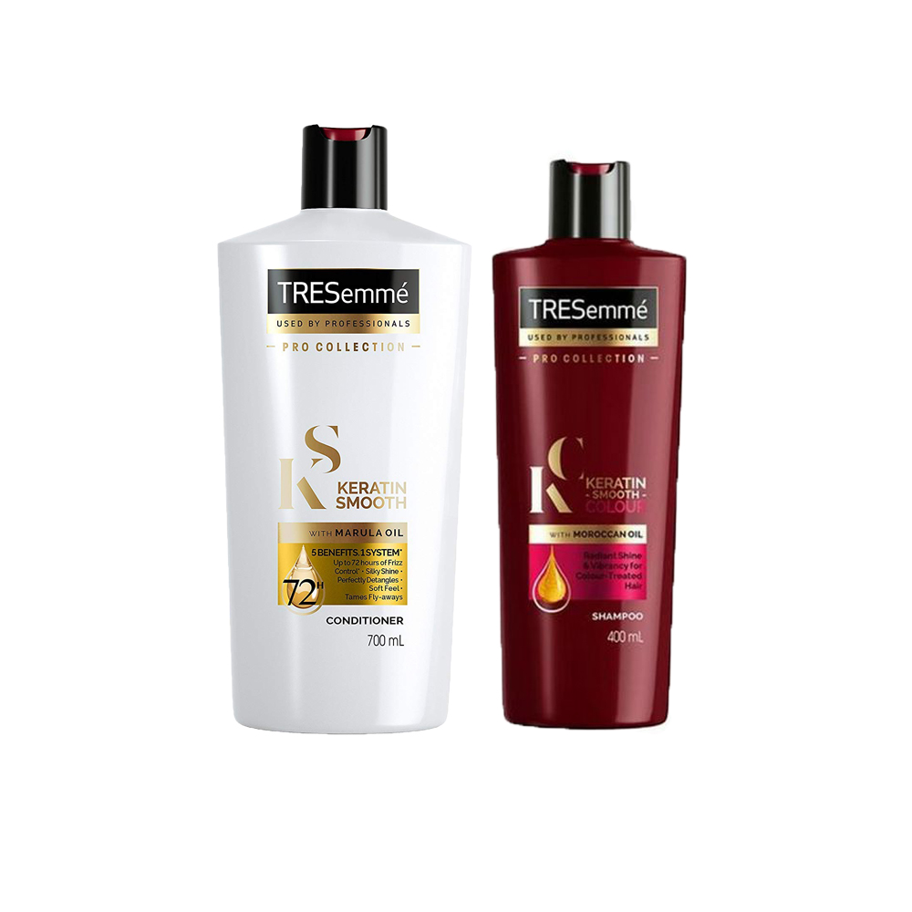 Tresemme Keratin Smooth Colour Shampoo & Conditioner Combo