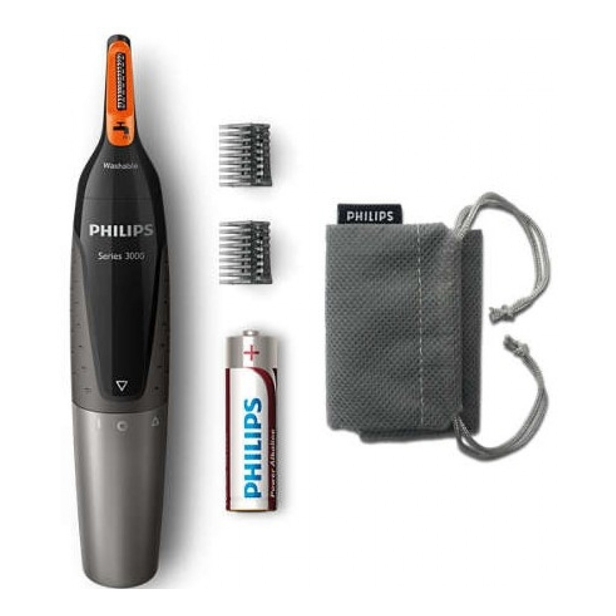 Philips Nosetrimmer Series 3000 Comfortable Nose, Ear & Eyebrow Trimmer - NT3160/10