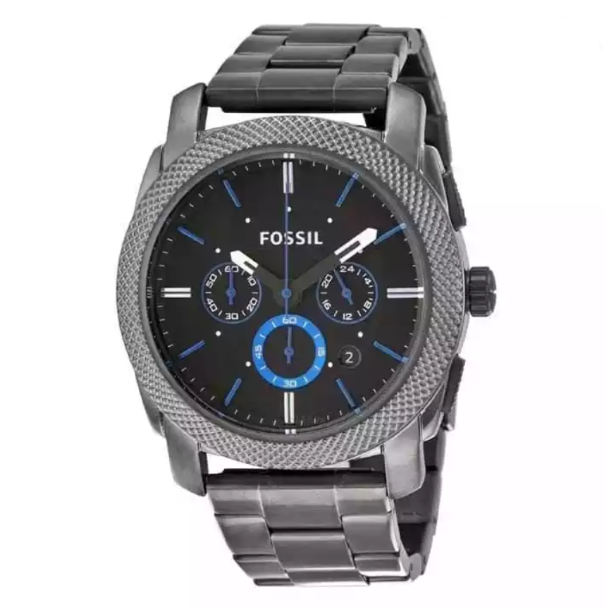 Fossil Machine Analog Chronograph Watch For Men - FS4931