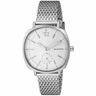 Skagen Rungsted Silver Dial Watch For Women-SKW2402