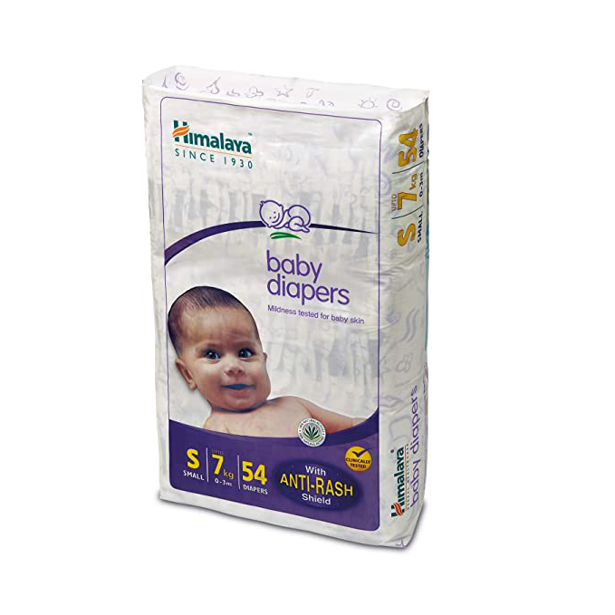 Himalaya Baby Diapers (Small), 54 Counts
