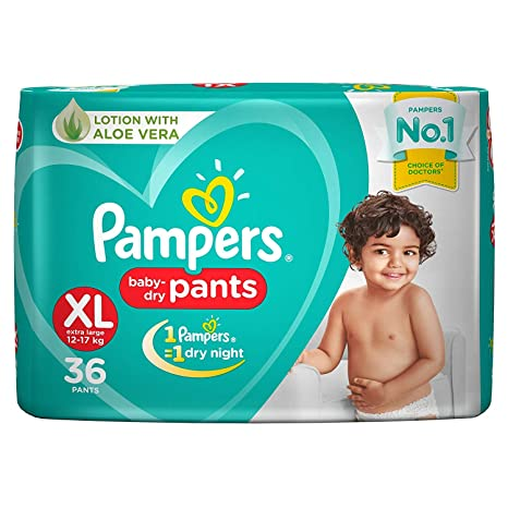 Pampers Pants Baby Diaper XL 36 Diapers