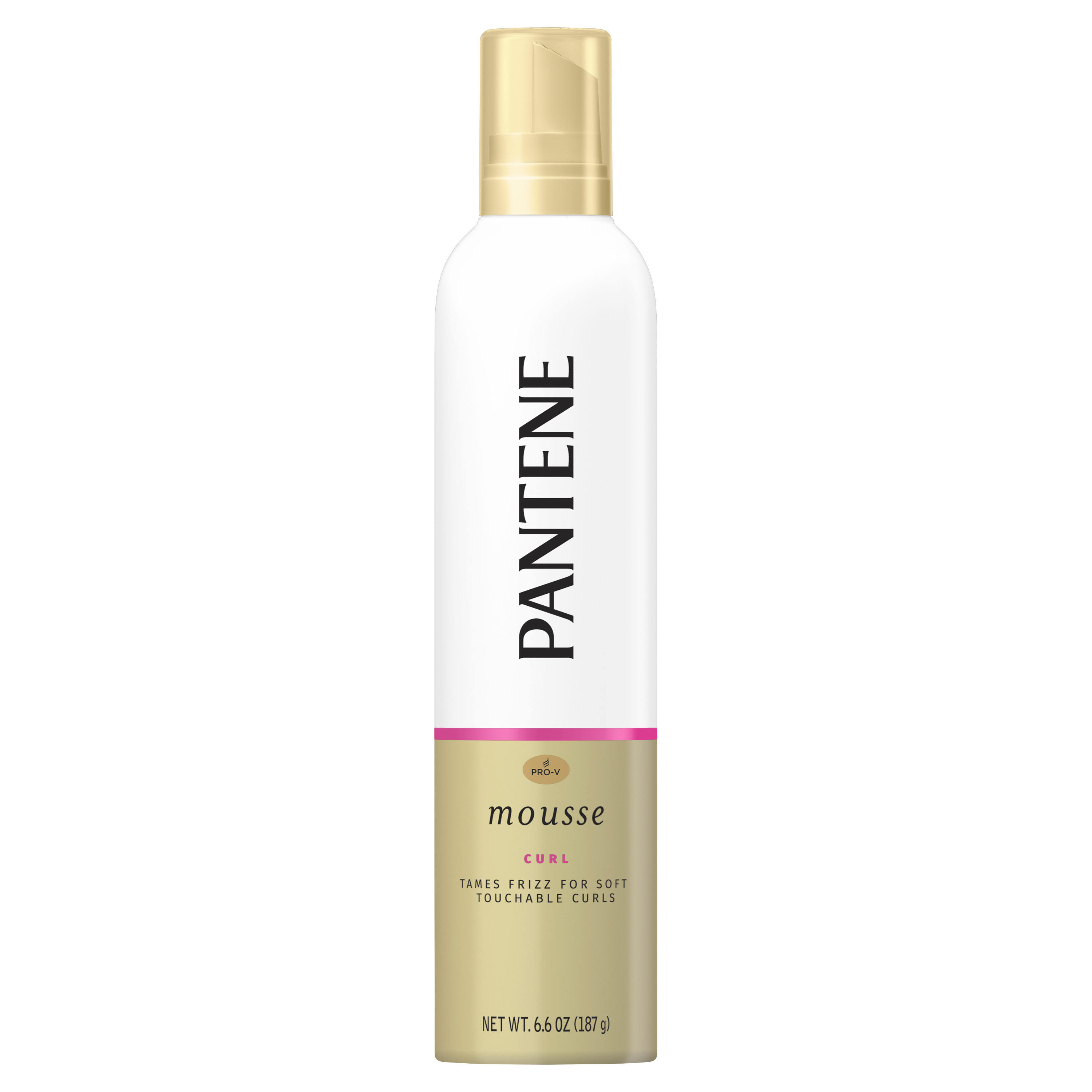 Pantene Pro-V Curl Mousse Tame Frizz for Soft and Touchable Curls - 187g