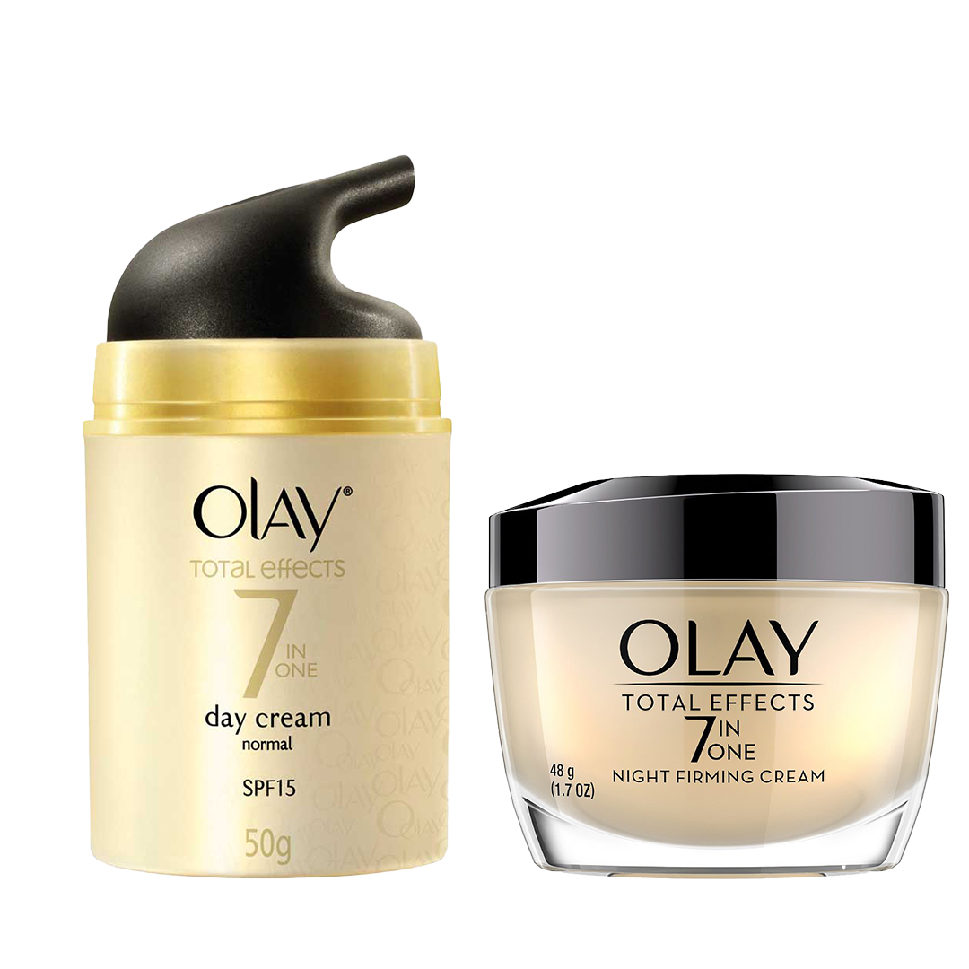 Olay Total Effect 7 In 1 One Day Cream & Night Cream Combo