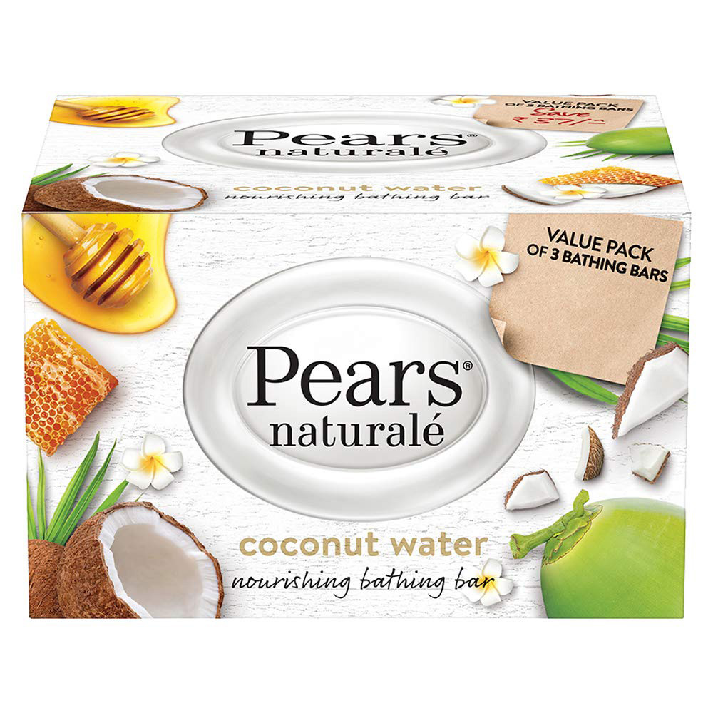 Pears Naturale Coconut Water Bar - 125g