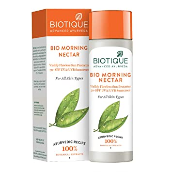 Biotique Bio Morning Nectar Ultra Soothing Face Lotion SPF 30 UVA/UVB (120ml)