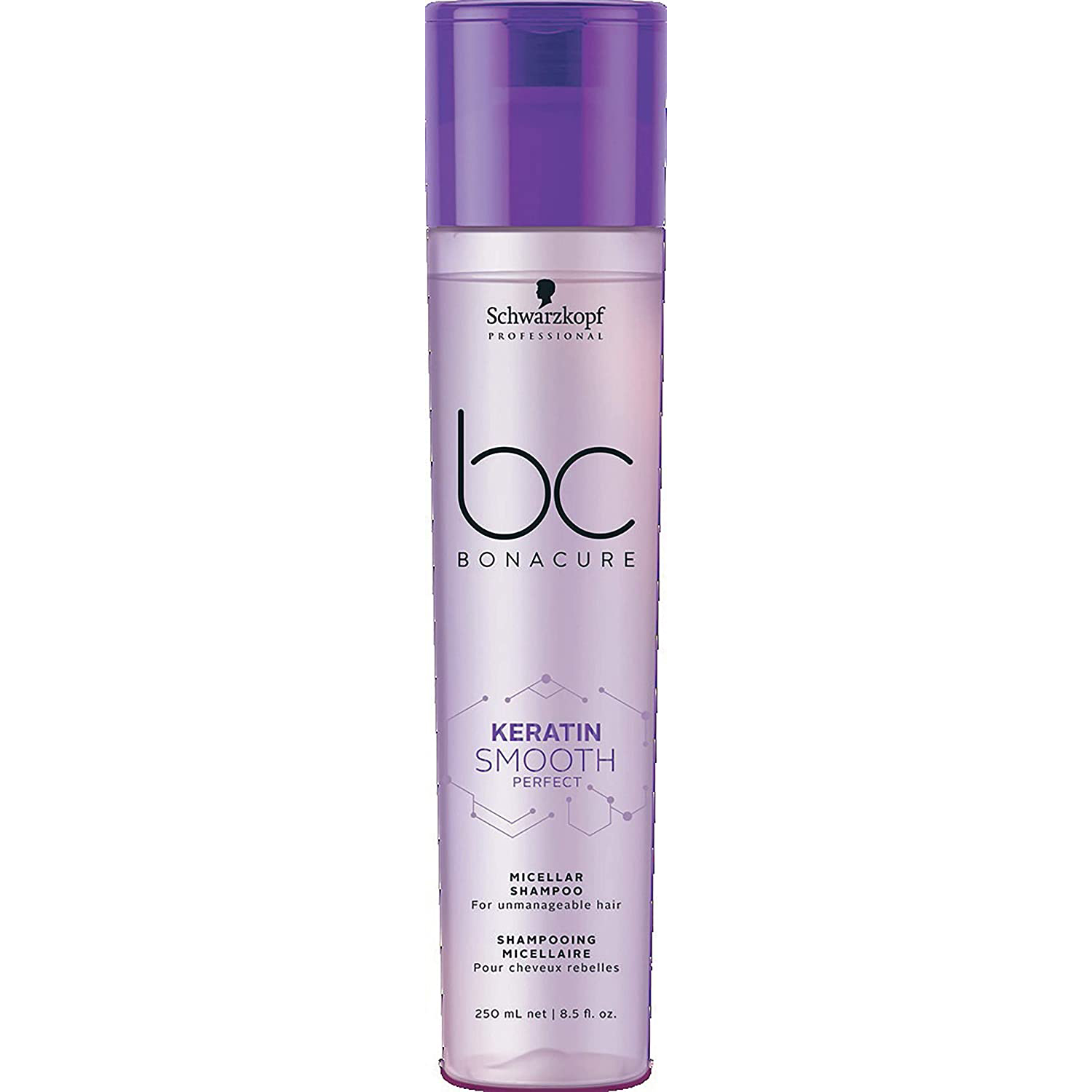 Schwarzkopf Professional Bonacure Keratin Smooth Perfect Micellar Shampoo - 250ml