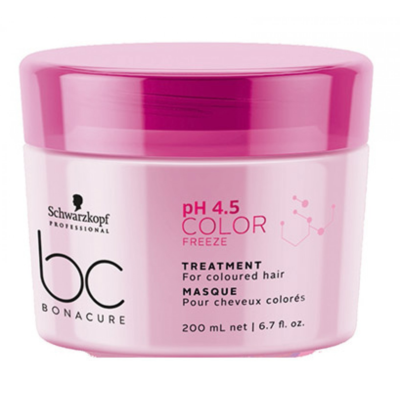Schwarzkopf Professional Bonacure pH 4.5 Color Freeze Treatment - 200ml