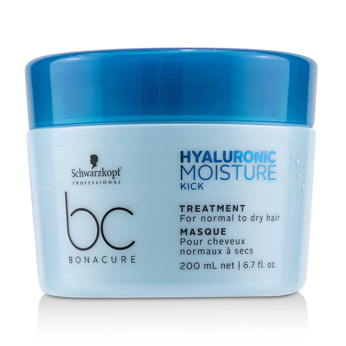 Schwarzkopf BC Bonacure Hyaluronic Moisture Kick Treatment (For Normal to Dry Hair) - 200ml