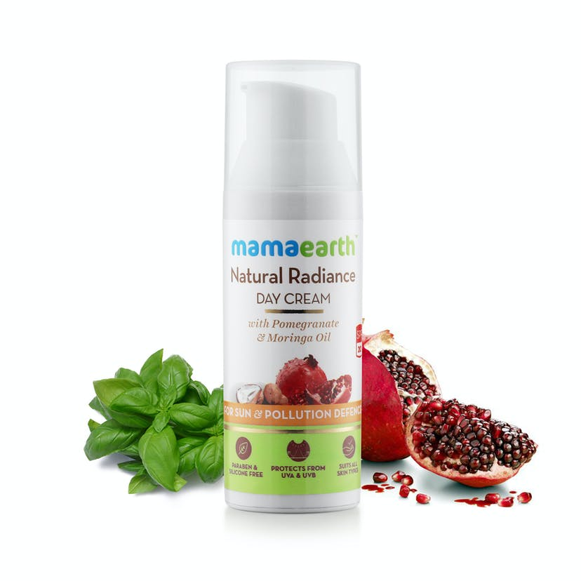 Mamaearth Natural Radiance Day Cream (50ml)