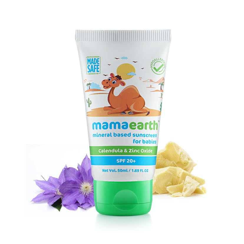 Mamaearth Mineral Based Sunscreen  SPF20+ (50ml)
