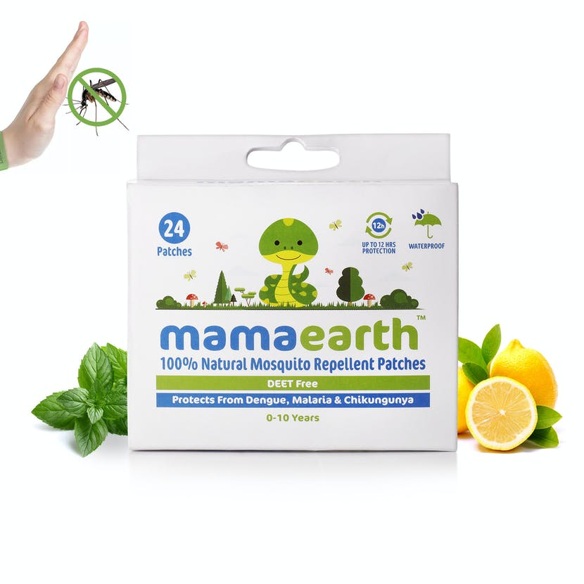 Mamaearth Mosquito Repellant Patches, 24 Pcs