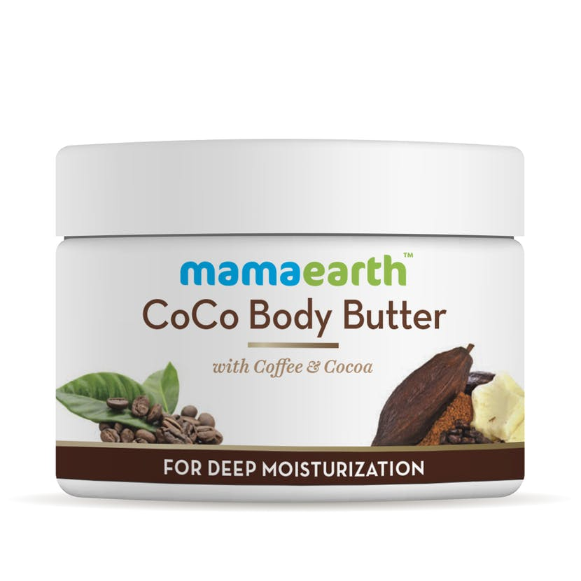 Mamaearth Coco Body Butter For Dry Skin, With Coffee & Cocoa For Deep Moisturization- 200G