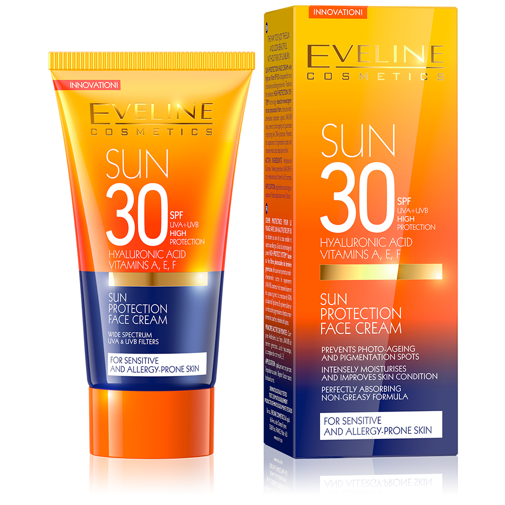 Eveline Cosmetics Sun Protection Face Cream Spf 30 - 50ml
