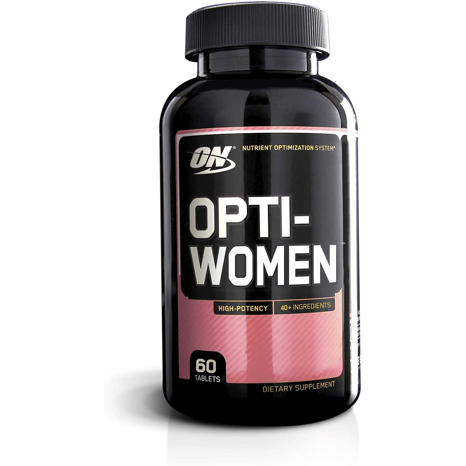 Optimum Nutrition Opti-Women, Vitamin C, Zinc and Vitamin D for Immune Support Womens Daily Multivitamin Supplement with Iron, Capsules, 60 Count