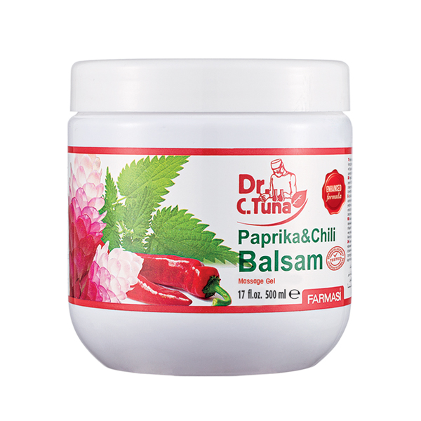 Farmasi Dr C Tuna Balsam Paprika Massage Gel - 500ml