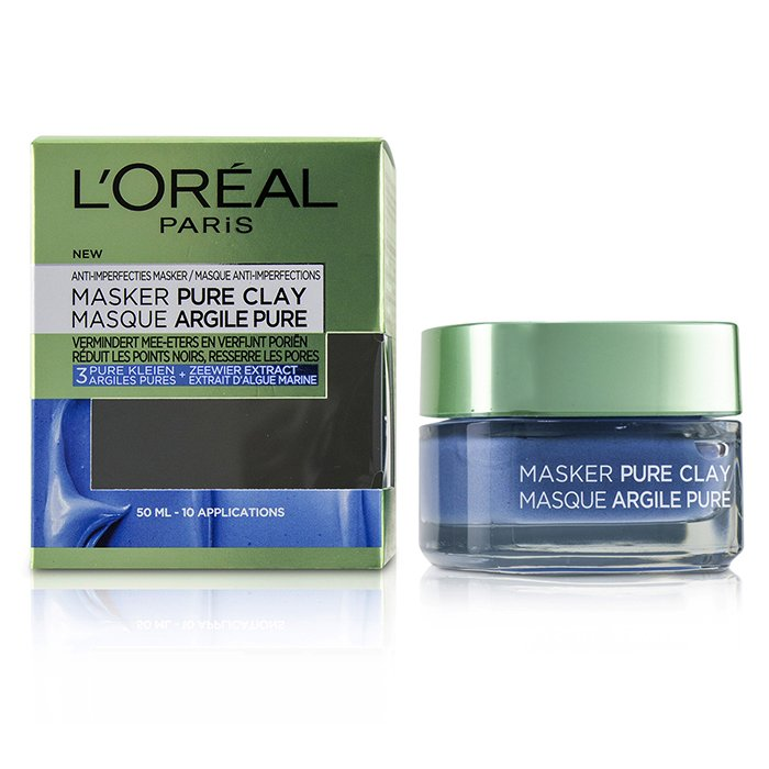 L'Oreal - Pure Clay Mask - Anti-Imperfections Mask - 50ml