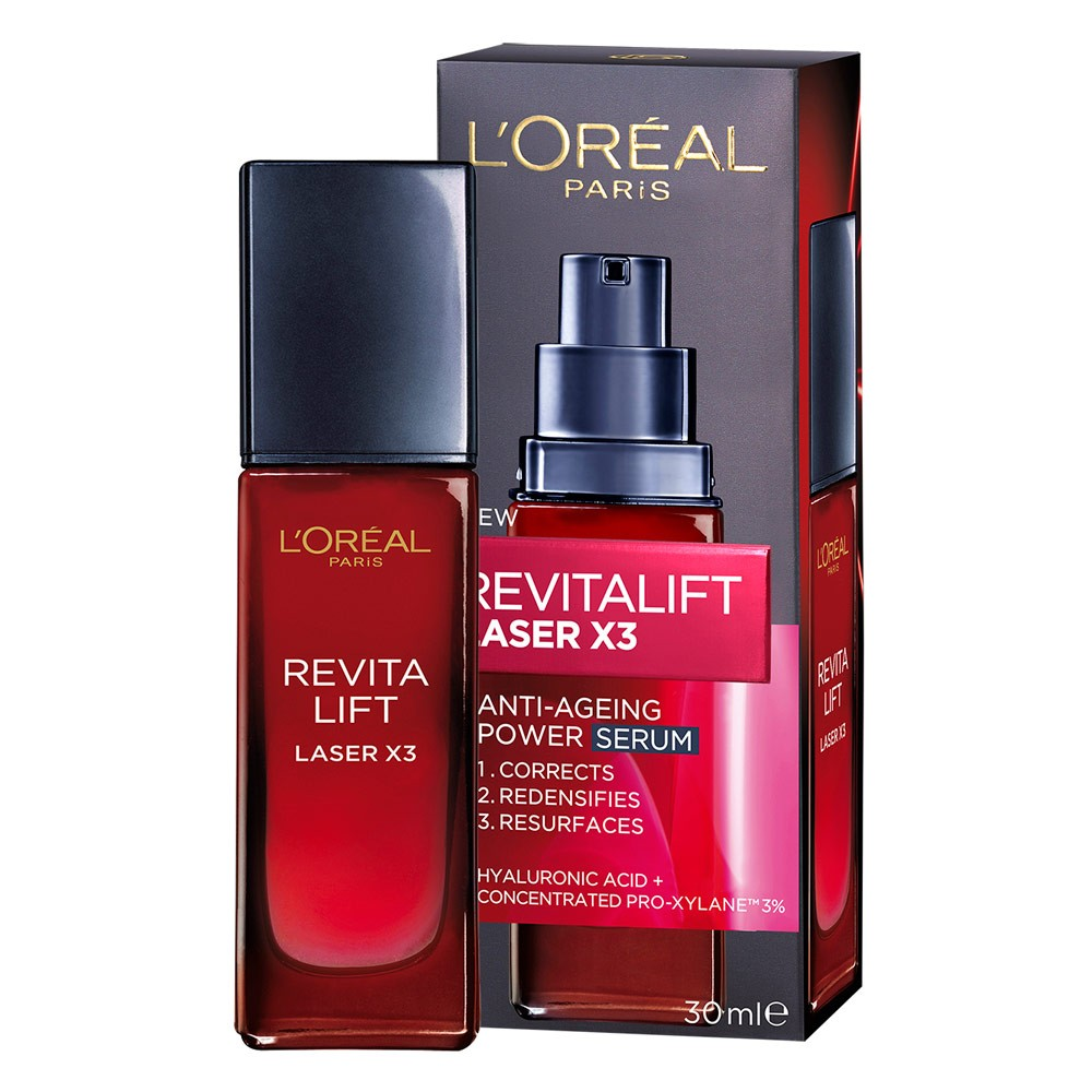 L'Oreal Paris Revitalift Laser X3 Anti-Ageing Serum - 30 ml