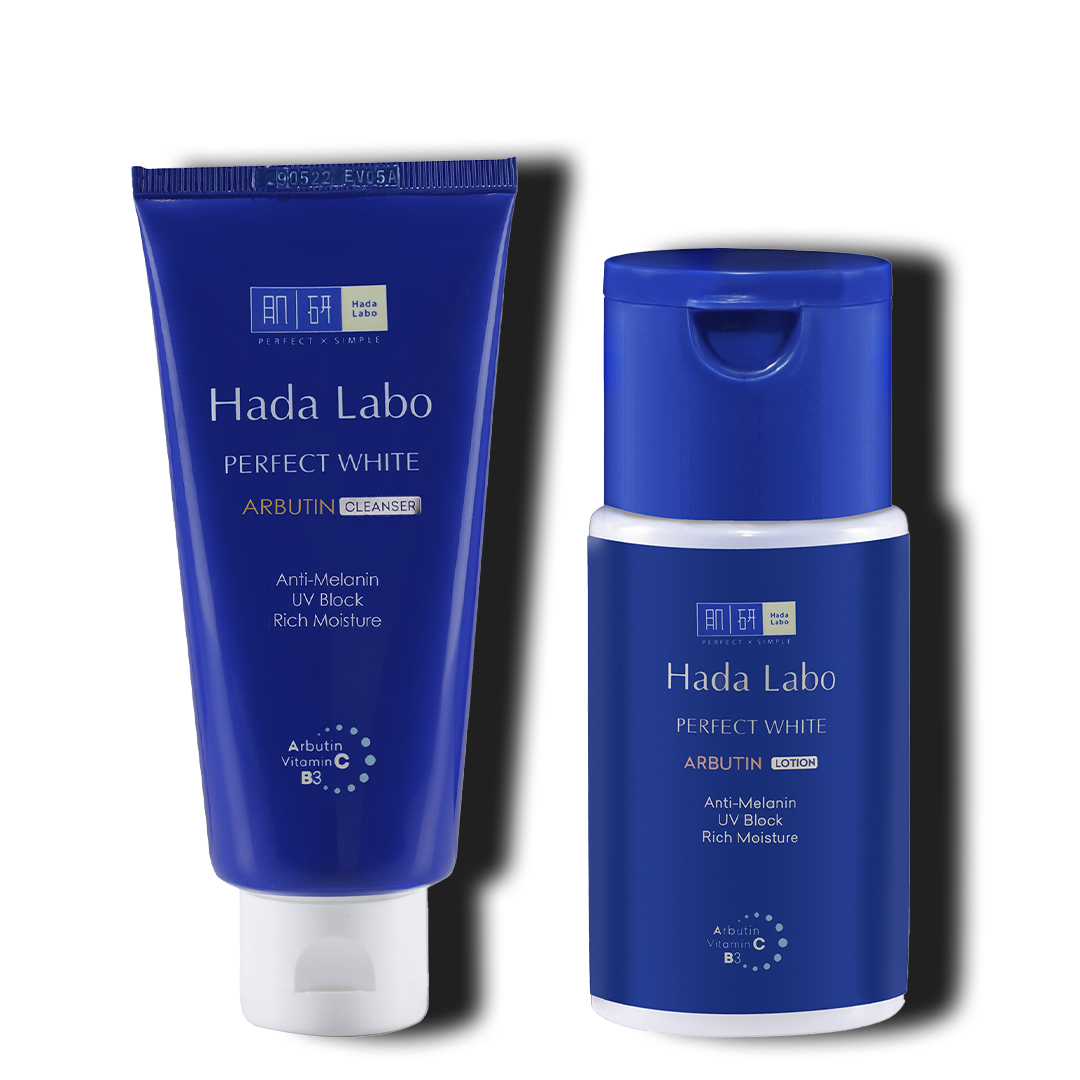 Hada Labo Perfect White Cleanser &  Lotion Combo