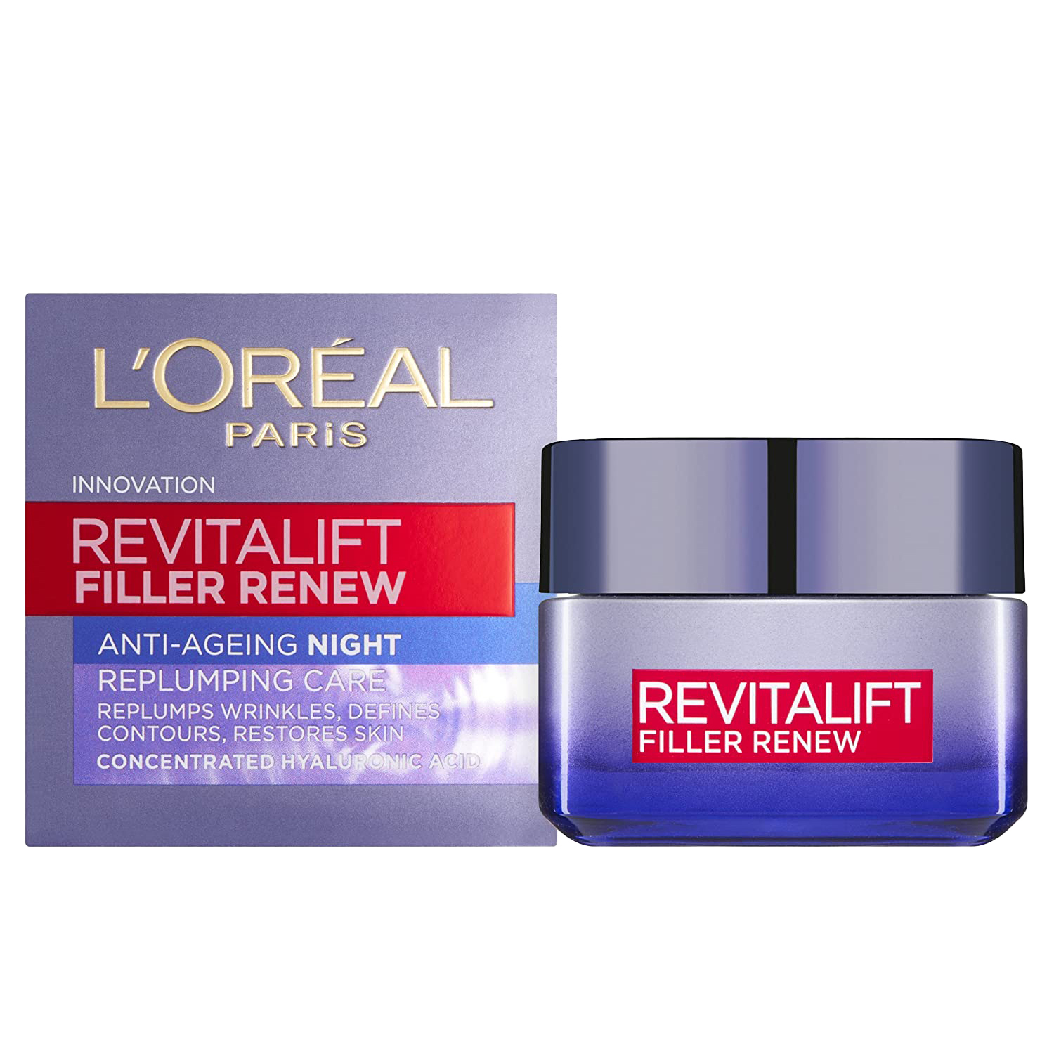 L'Oreal Paris Revitalift Filler Night Cream, 50ml