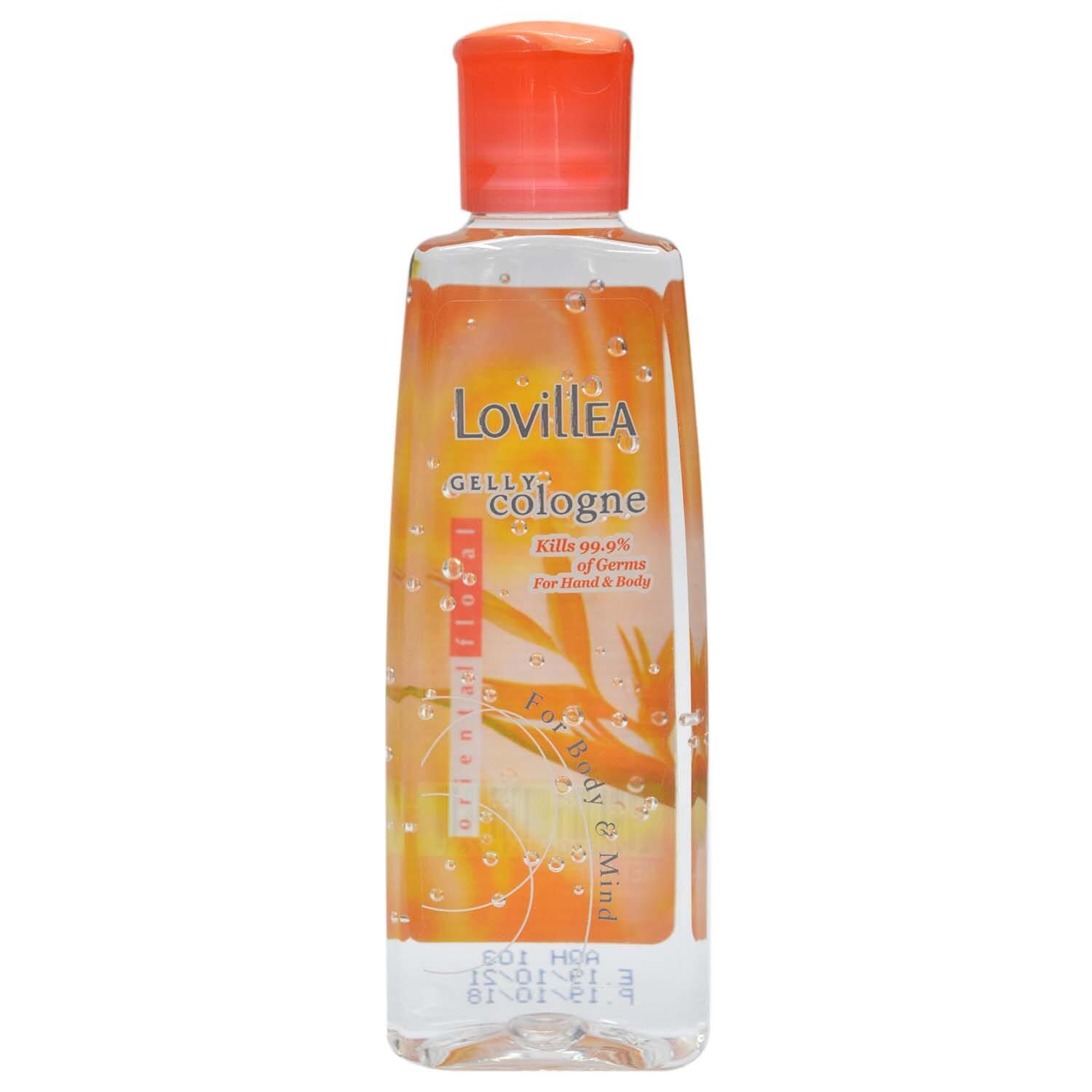 Lovillea Oriental Floral Gelly Cologne Sanitizer For Hand & Body - 100ml