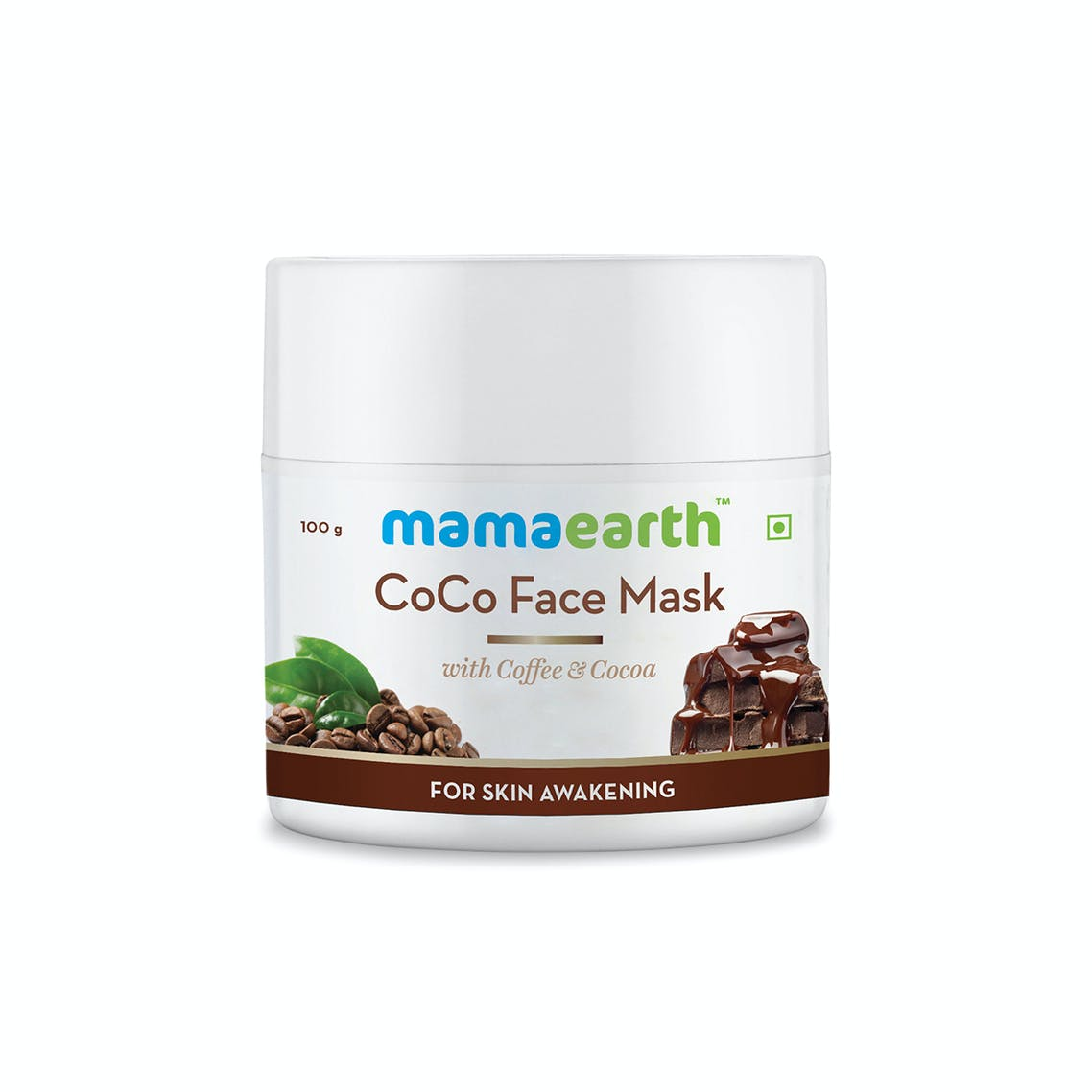 Mamaearth CoCo Face Mask with Coffee & Cocoa for Skin Awakening – 100g