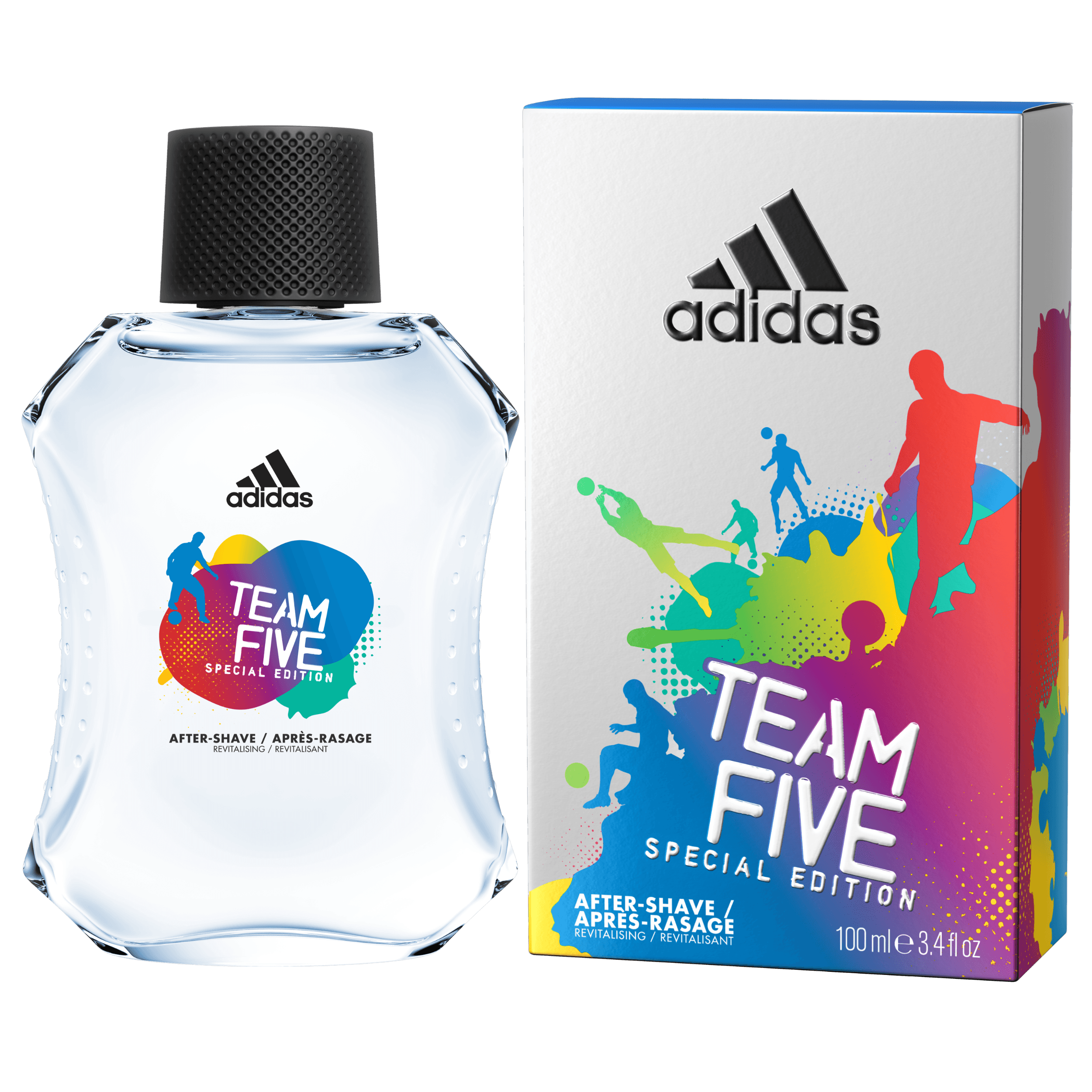 Adidas Team Five After Shave, 100ml