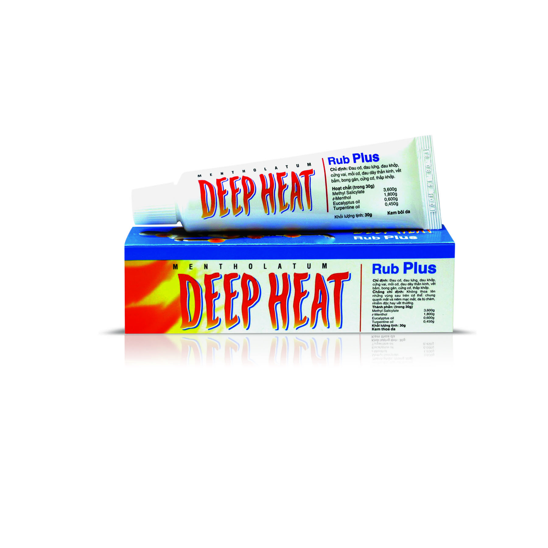 Deep Heat Rub Plus Cream, 30gm