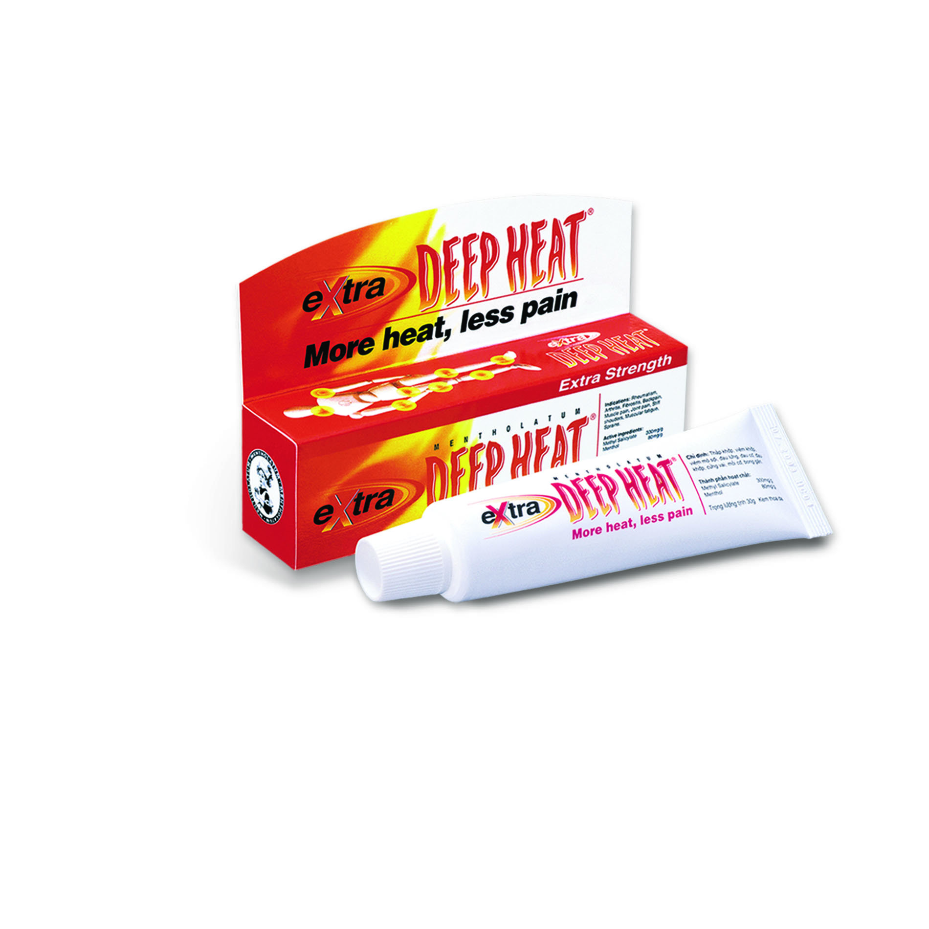 Extra Deep Heat, 30gm