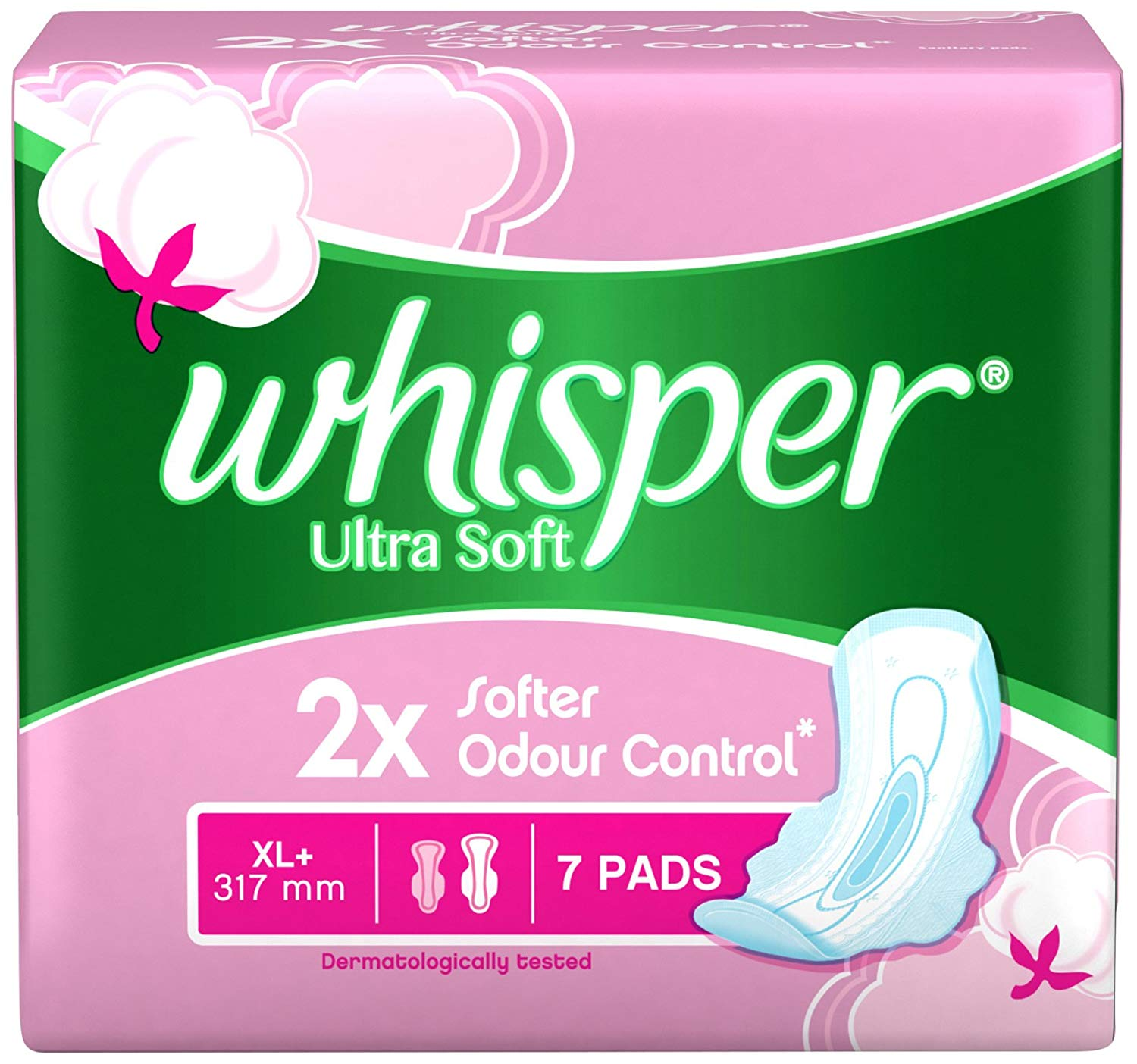 Whisper Ultra Soft XL Plus- 7 Count
