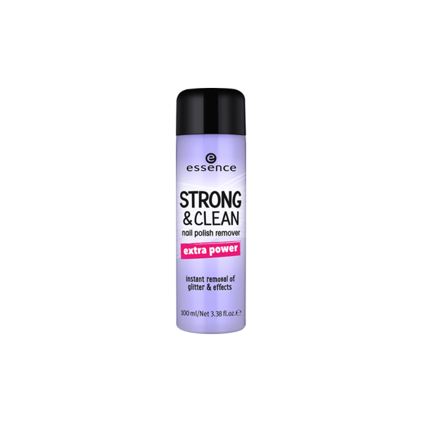 Essence Strong & Clean Nail Polish Remover
