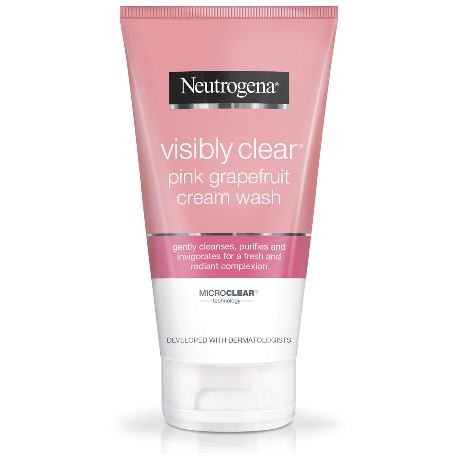 Neutrogena Visibly Clear Pink Grapefruit Cream Wash, 150 ml