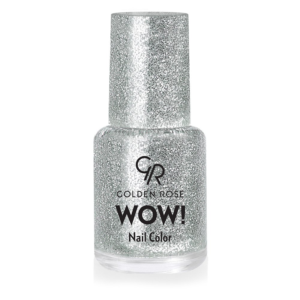 Golden Rose Wow Nail Lacquer Glitter
